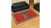 Fan Mats 17542  Texas Tech University Red Raiders 8' x 10' Area Rug