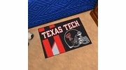 "Fan Mats 18782  Texas Tech University Red Raiders 19"" x 30"" Uniform Inspired Starter Mat"