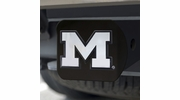 Fan Mats 21038  University of Michigan Wolverines Hitch Cover - Black