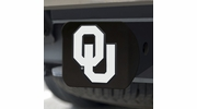 Fan Mats 21044  University of Oklahoma Sooners Hitch Cover - Black