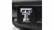 Fan Mats 21052  Texas Tech University Red Raiders Hitch Cover - Black
