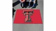 Fan Mats 3557  Texas Tech University Red Raiders 5' x 8' Ulti-Mat Area Rug / Mat