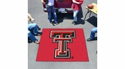 Fan Mats 3559  Texas Tech University Red Raiders 5' x 6' Tailgater Mat / Area Rug