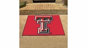 "Fan Mats 3561  Texas Tech University Red Raiders 33.75"" x 42.5"" All-Star Series Area Rug / Mat"
