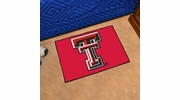 "Fan Mats 3563  Texas Tech University Red Raiders 19"" x 30"" Starter Series Area Rug / Mat"