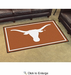 Fan Mats 6308  UT - University of Texas Longhorns 4' x 6' Area Rug