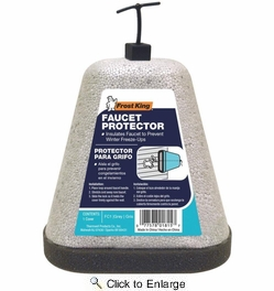 Frost King FC1  Foam Oval Outdoor Faucet Cover / Insulator