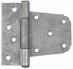 "Gatemate 6020011  3-1/2"" Offset Gate Hinge - Galvanized Finish"