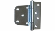 "Gatemate 6020012  3-1/2"" Offset Gate Hinge - Zinc Finish"