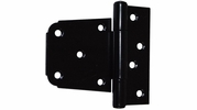 "Gatemate 6020013  3-1/2"" Offset Gate Hinge - Black Finish"