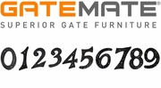 GateMate House Numbers