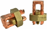 GB Gardner Bender GSBC-4  #8-#4 AWG Solid Copper Split Bolt Connectors - 2 per Package