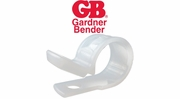GB Gardner Bender Plastic Cable Clamps
