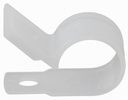 """GB Gardner Bender PPC-1538  3/8"""" Plastic Cable Clamps - Natural White - 15 per Package"""