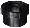 """Genova Products 81629  3"""" ABS-DWV Cleanout Body Fitting (Spigot x FIP)"""
