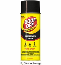 Goof Off FG658  Pro Strength Remover 12 Oz Aerosol