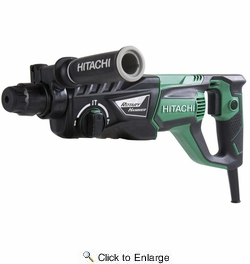 "Metabo HPT  DH26PF  1"" 3-Mode D-Handle SDS Plus Rotary Hammer"
