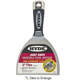 """Hyde 06778  5"""" Flexible Pro Stainless Joint Knife"""