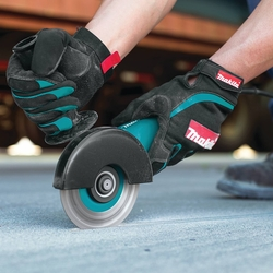 """Makita 9557NB2  4-1/2"""" Angle Grinder,  7.5 Amp, with AC/DC Switch"""