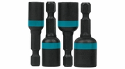 "Makita A-97639  ImpactX 4 Piece  1-3/4"" Magnetic Nut Driver Set,  1/4"",  5/16"", 3/8"", 7/16"""