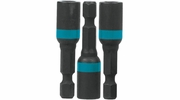 "Makita A-97645  ImpactX 1/4"" x 1-3/4"" Magnetic Nut Driver, 3 per package"