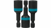 "Makita A-97667  Impact 3/8"" x 1-3/4"" Magnetic Nut Driver, 3 per package"