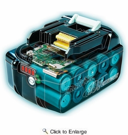 Makita BL1830B-2  18V LXT Lithium-Ion 3.0Ah Battery, 2 per package