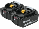 Makita BL1860B-2  18V LXT Lithium-Ion 6.0Ah Battery, 2 per package