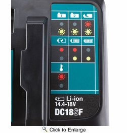 Makita DC18SF  18V LXT Lithium-Ion 4?Port Charger