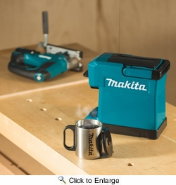 Makita DCM501Z  Coffee Maker, Tool Only, 18V LXT / 12V max CXT Lithium-Ion Cordless