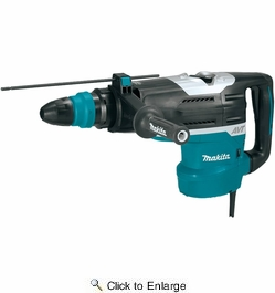 "Makita HR5212C  2"" Advanced AVT Rotary Hammer, accepts SDS-MAX bits"