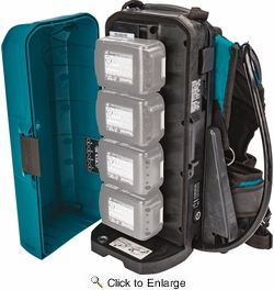 Makita PDC01  LXT and LXT X2 (36V) Portable Backpack Power Supply