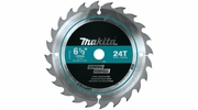 "Makita T-01404 6-1/2"" 24T Carbide-Tipped Circular Saw Blade, Framing"
