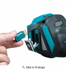 """Makita XAG17ZU  18V LXT® Lithium-Ion Brushless Cordless 4-1/2"""" / 5"""" Cut-Off/Angle Grinder, with Electric Brake and AWS, Tool Only"""