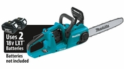 """Makita XCU03Z  18V X2 (36V) LXT Lithium-Ion Brushless Cordless 14"""" Chain Saw, Tool Only"""