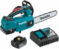 """Makita XCU06T  18V LXT Lithium-Ion Brushless Cordless 10"""" Top Handle Chain Saw Kit (5.0Ah)"""