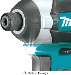 Makita XDT14Z  18V LXT Lithium-Ion Brushless Cordless Quick-Shift Mode 3-Speed Impact Driver, Tool Only