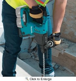"""Makita XRH05Z  18V X2 LXT Lithium-Ion (36V) Cordless 1"""" Rotary Hammer, accepts SDS-PLUS bits, Tool Only"""