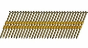 """Metabo HPT 10120HPT  3-1/2"""" x 0.131"""" Full Round Head Brite Smooth Shank Basic Plastic Strip Framing Nails 4000 count"""