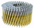 """Metabo HPT 12216HPT  3"""" x 0.131"""" Full Round Head Brite Smooth Shank Basic Wire Coil Framing Nails 4000 count"""