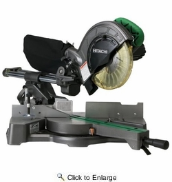 "Metabo HPT C8FSEM  8-1/2"" Sliding Compound  Miter Saw"