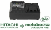 Metabo HPT UC18YSL3M  18 Volt Lithium-Ion Slide Style Battery Charger  with USB Port