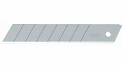 Olfa 5009  18mm Heavy-Duty Replacement Silver Snap-off Blades - 10 per Package (LB-10B)