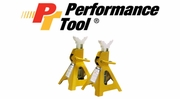 Performance Tool Ratcheting Jack Safety Stands