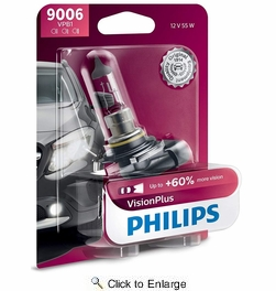 Philips 9006VPB1  Vision Plus Headlight