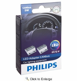 Philips CANBUS-5W  Canbus 5W Adapter