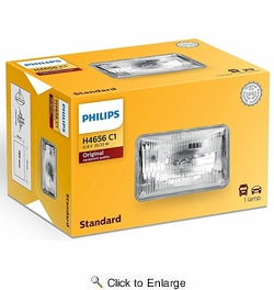 Philips H4656C1  Sealed Beam