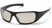 Pyramex SB5680D  Goliath Indoor-Outdoor Mirror Lens with Black Frame