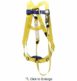 Sellstrom V8252367  Compliance Harness Kit with Attached Shock Absorbing Lanyard and Mesh Bag