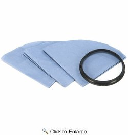 Shop Vac 901-07  Reusable Disc Filters with Mounting Ring 3 per Package